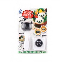 Panda set rice mold with puncher
