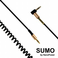 Kabel AUX Audio SUMO - Gold Edition | Auxiliary Cable 2 meter