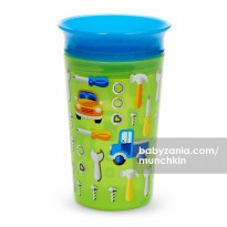 Munchkin Deco Miracle 360 Sippy Cup 266ml - Green Car