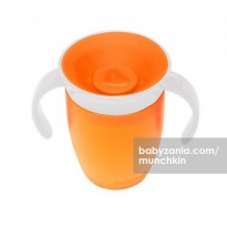 Munchkin Miracle 360 Trainer Cup - Orange White