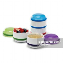 Dr. Brown's Snack-A-Pillar Snack & Dipping Cups