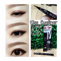 KISS EYELINER Super Black Ultra HD BY MALISSA KISS