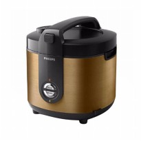 Philips Rice Cooker HD3128 2L- Gold