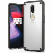 Rearth OnePlus 6 Case Ringke Fusion - Smoke Black