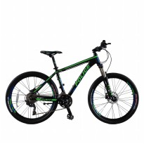 Sepeda Police 911 Vancouver 4.0 Limited Edition MTB 26' Hitam