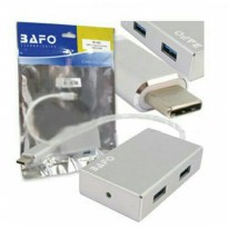 USB 3.1 Type C to hub 3.0 4 port bafo BF 4331