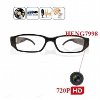 Clear Eye Glasses Spy DVR Camera 720P HD (kacamata kamera Bening)