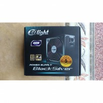 PSU / Power supply enlight 400W black silver