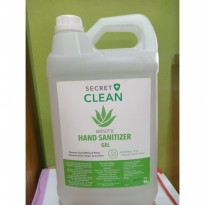 Secret Hand Sanitizer Gel 5liter