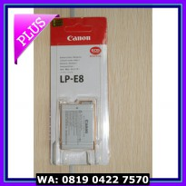 (Murah) baterai / battery Canon LP-E8 for canon 550D, 600D, 650D,