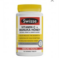 Swisse Vitamin C With Manuka Honey 120 Tablet vitamin C Ultiboost plus