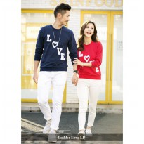 Lengan Panjang Couple | Busana Kapel Kekinian | LP Ladder Love