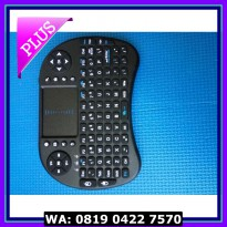 (Murah) Mini Wireless Keyboard with Touchpad