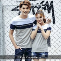 Kaos Couple Trendy | Baju Pasangan Simple | Drake