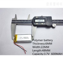 [globalbuy] ()Polymer lithium battery 3.7 V, 602248 062248 can be customized wholesale CE /5375006