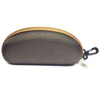 Tiaria Fashion Large Brown Sunglasses Case TSUP322 -22 / Tempat Kacamata