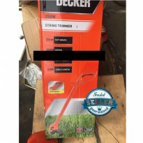 GL Black Decker String Trimmer Pemotong Rumput