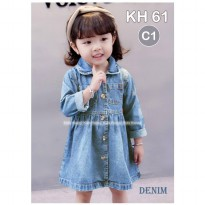 Dress Jeans Anak Kids Happy - KH61 C1