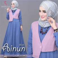Dress Muslimah Ainun dress MC 340