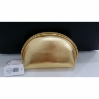 [100% Original The Body Shop] Gold Pouch / Dompet Cosmetic BodyShop / Tas Kecil Kosmetik Thebodyshop
