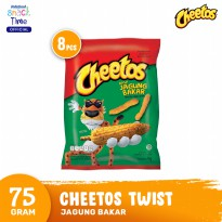 Cheetos Twist Jagung Bakar 75 Gr - 8 Pcs