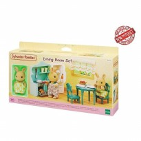 Mainan Koleksi Sylvanian Families Dining Room Set New