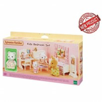 Mainan Koleksi Sylvanian Families Kids Bedroom Set