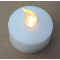 Flameless Led Candle Lilin Led Elektrik Tanpa Api - Tanpa Asap - Aman dan Indah -
