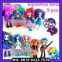 (Murah) Figure Equestria Girls / Pony Girls 9pcs