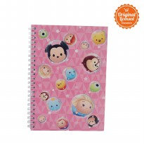 Disney Tsum Tsum Notebook Pink Type A