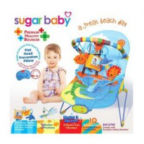 Sugar Baby Bouncer 3 Recline Positions Great Beach Day
