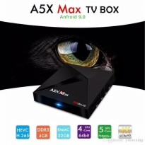A5X MAX Tv Box OS Android 9 Pie RAM 4GB