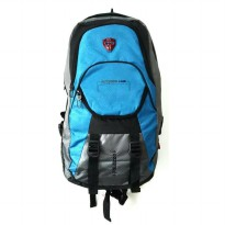Palazzo 36169 Biru Muda Tas Ransel Gunung Outdoor Hiking Carrier Keril 45 liter Tas Mudik Backpack