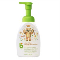 Babyganics alcohol free foaming hand sanitizer mandarin 250ml