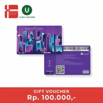 Ultra Voucher Rp 100.000 (Special Gift Card)