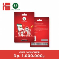 Ultra Voucher Rp 1.000.000 (Special Gift Card)