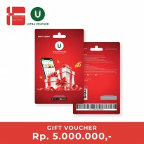 Ultra Voucher Rp 5.000.000 (Special Gift Card)