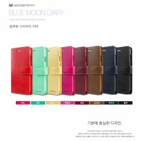 Mercury Goospery Bluemoon Diary Case for Samsung Galaxy On7 2016 G610