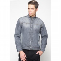 2Nd Red Jacket Denim Grey Spray-101206