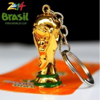Gantungan Kunci Model Trophy Piala Dunia / World Cup