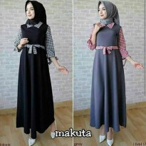 makuta dress hijab gamis