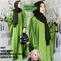 Gamis pakistan syari big size, Abaya Long Dress Jum
