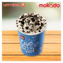 [LOTTERIA] Ice Cream Tornado (choco Cookies/ Green Tea Flavour)