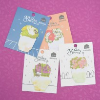 Mini Garden Memo-it Post-its Label Note Kertas Catatan Memo Tempel Ukuran Kecil Lucu Imut Unik Murah
