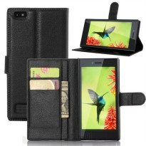 [globalbuy] For BlackBerry Leap Case High Quality Phone Cover Flip Stand Bags Wallet Case /5350222