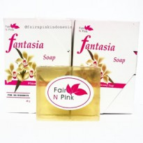 SOAP FANTASIA FAIR N PINK WHITENING ORIGINAL BPOM
