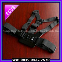 (Dijamin) Action Cam Chest Strap for SJCAM SJ4000 & GOPRO HERO
