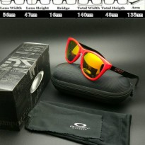 Oakley frogskins Twotone Surf Red Black Polarized