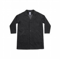 ANOTHER OFFICE Service Denim Sack Coat - Washed Black