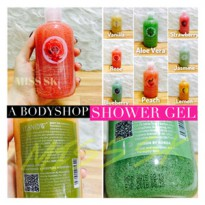 A Body shop Shower gel + scrub by YESNOW